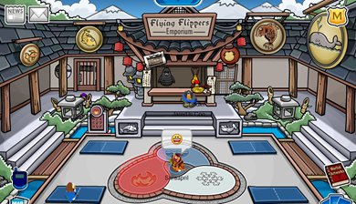Ninja Dojo in Club Penguin