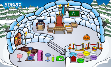 Featured Igloo in Club Penguin