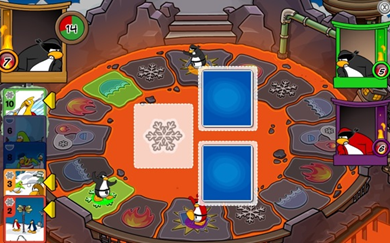 Card-Jitsu Fire Club Penguin