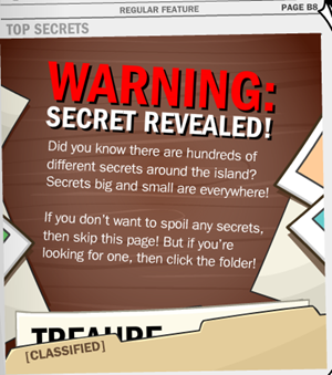 Secret Revealed Club Penguin