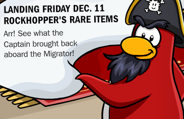Rockhopper in Club Penguin