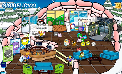 Featured Igloo Club Penguin Community