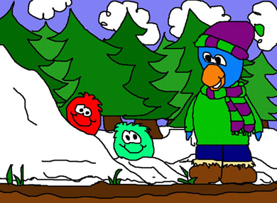 Fan Art in Club Penguin