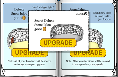 Secret Deluxe Stone Igloo