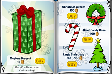 Mystery Present Club Penguin :)
