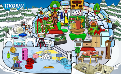 Club Penguin Community Featured Igloo