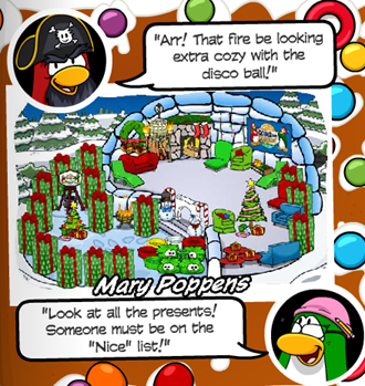 Holiday Igloo Contest Winners :)