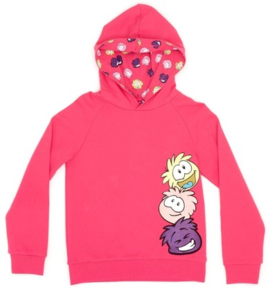 Club Penguin Multi Hooded Top :)