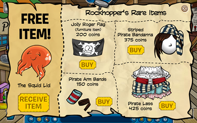 Rockhopper's Rare items :)