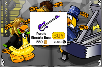 Purple Electric Bass :)