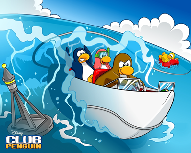 Club Penguin Wallpaper :)