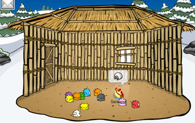 Bamboo Hut Igloo :)