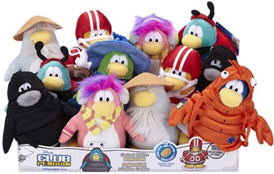 Series 9 Club Penguin Plush Toys :)