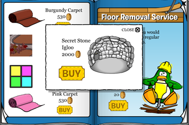 Secret Stone Igloo :)