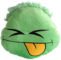 Club Penguin Puffle Cushion – Green :)
