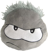 Club Penguin Puffle Cushion – Black :)