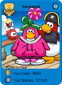 Rockhopper, Yarr and Saraapril :)