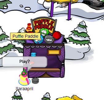 Puffle Paddle Game  :)