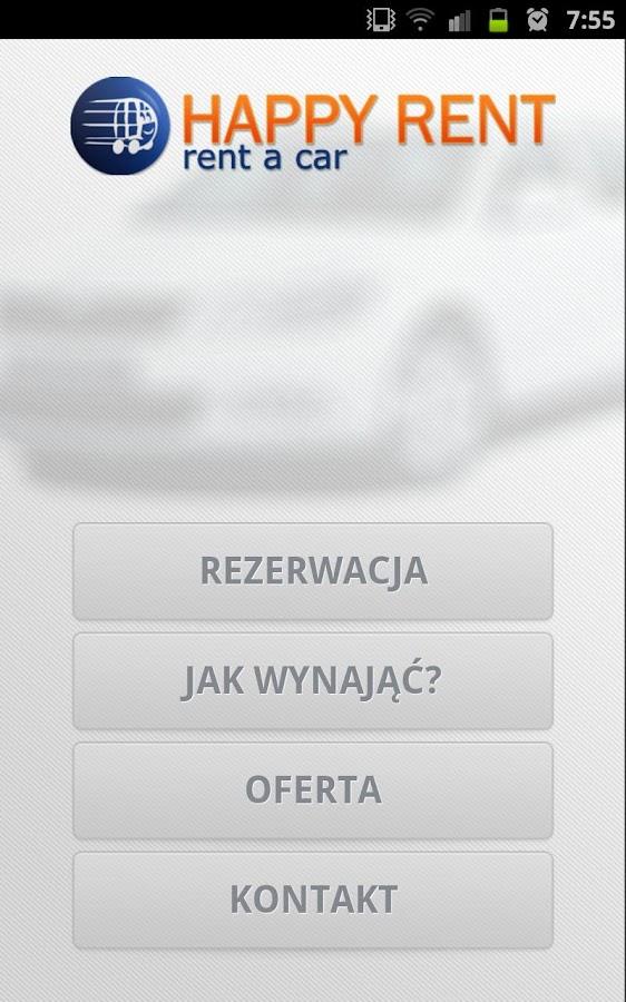 Happyrent, Rent a Car- screenshot