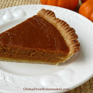 Pumpkin Pie - Gluten & Dairy Free Recipe