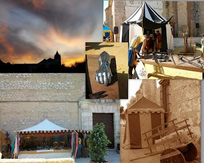Mercado Medieval de Estepa, Sevilla.