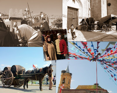 Feria Medieval del descubrimiento en Palos de la Frontera, Huelva.