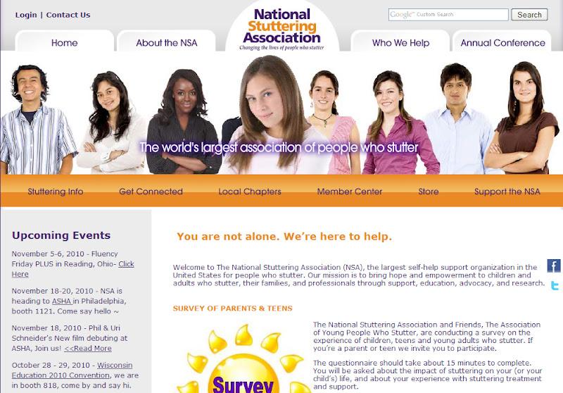 заикание.NEWS:Сайт Национальной ассоциации заикания
