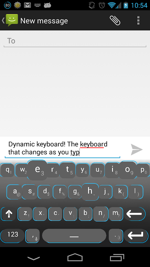 Dynamic Keyboard - Free - screenshot