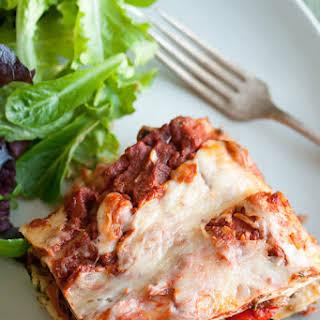 Roasted Vegetable Lasagna.