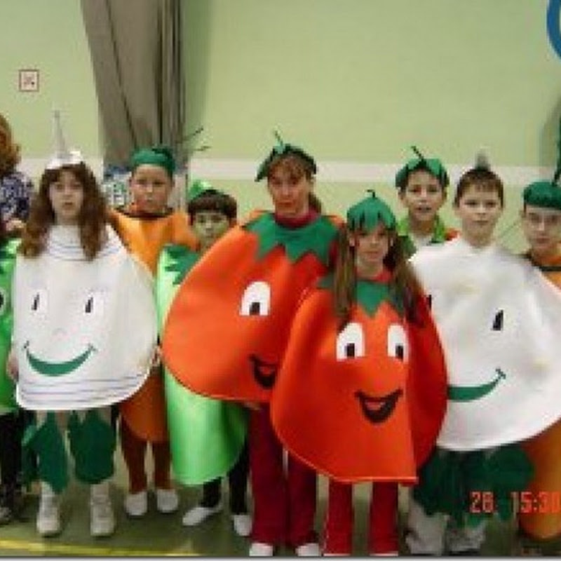 ideas para disfraces caseros de frutas y verduras