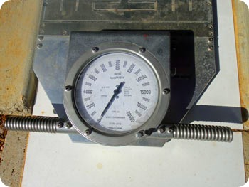 gauge-before-weighing