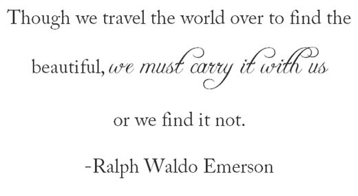 emerson travel quote