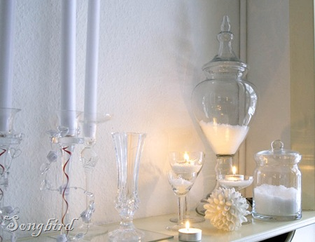 White winter decoration2
