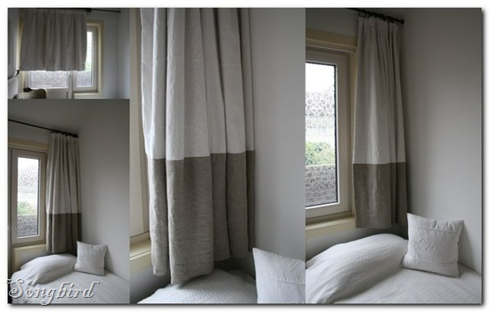 Curtain disaster collage