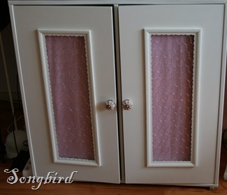 Cupboard makeover after