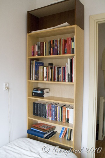 Billy Bookcase Before