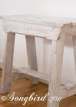White Bench 1
