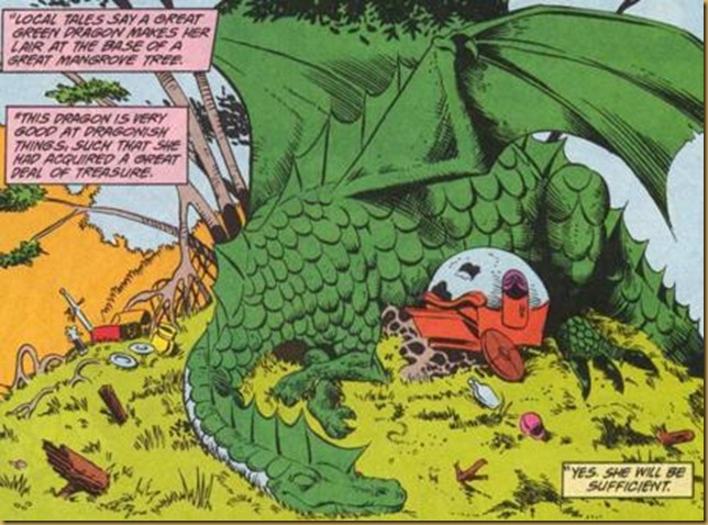 A Hero Twice A Month: Forgotten Realms: Issue 6 – The Dragon