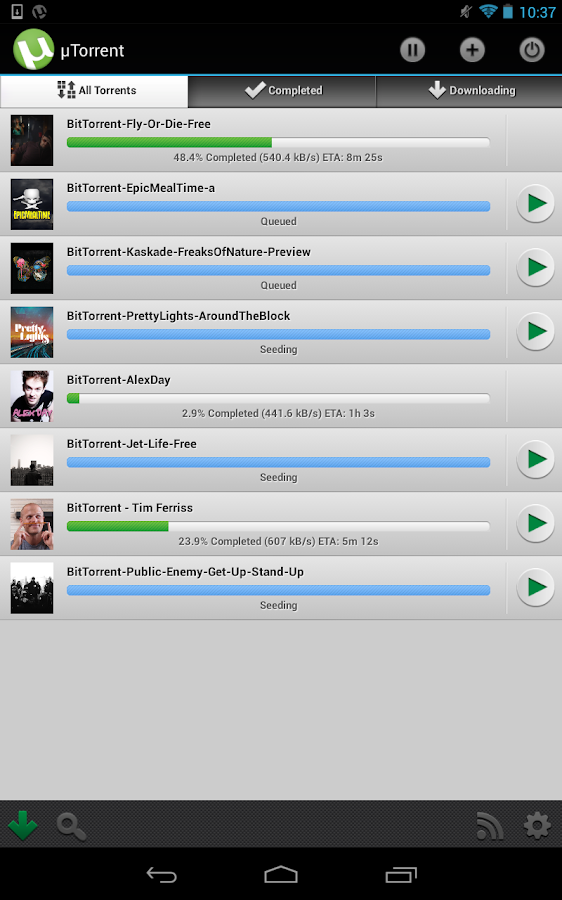 utorrent new version download for android tablet