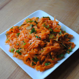 Grated Spring Carrot Salad.