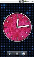 Screenshot of Big Pink Clocks - FREE