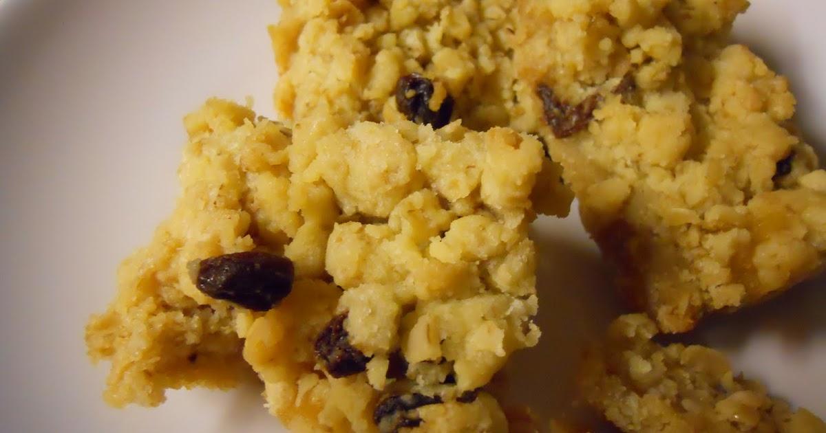 Oatmeal Raisin Bars Using Cake Mix