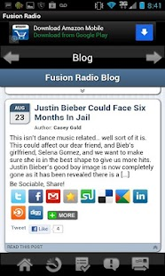 Fusion Radio App - screenshot thumbnail
