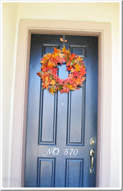 Countdown To Fall Party Pb Ish Wreath Domestically Speaking