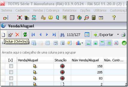 Nessa nova venda, o usuário deverá selecionar a Modalidade referente ao  Resíduo Projetado, no qual a mesma já tem o Componente de Resíduo  parametrizado da ... 499f116302