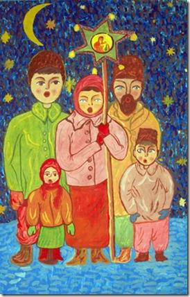 Різдвяний вертеп. Народився наш Месія. Сценарій. 9 дійових осіб.