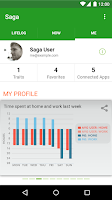 Screenshot of Saga — Automatic Lifelogging