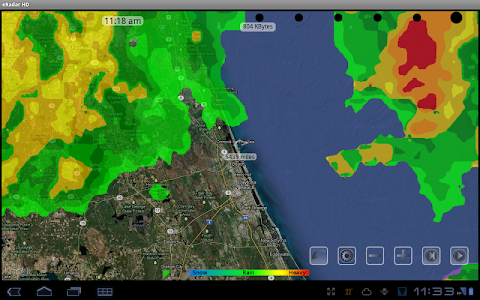 eRadar HD - NOAA Hi-Def radar screenshot 7