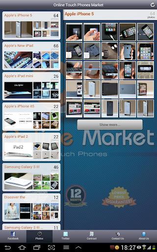 Online Touch Phones Market