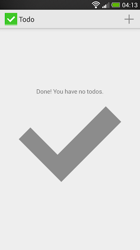 Todo: Flat simple task list